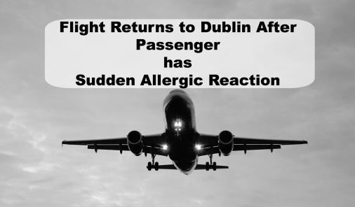 An unknown nut allergy caused an international flight to be diverted.