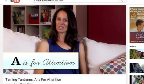 Andrea Nair A to Z Taming Tantrums Video Series | YummyMummyClub.ca