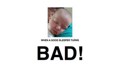 bad sleepers, newborns, sleep, sleep through the night, jen warman, sleep struggles, cursed, good sleepers, waking at night, night feedings