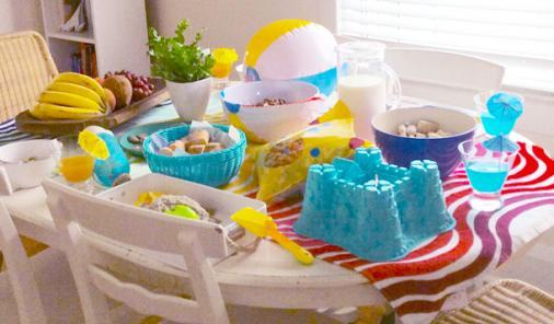 Make a fun, beach-themed family breakfast happen right in your own kitchen! | DIY | YummyMummyClub.ca