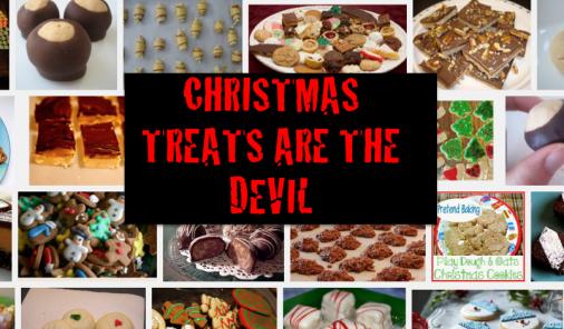 christmas, treats, baking, christmas baking, unhealthy, devil, comedy, talking food, sugar, chocolate, diet, health