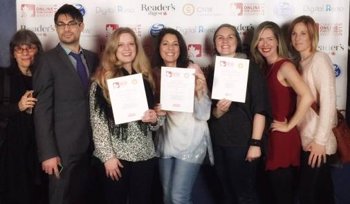 YummyMummyClub.ca wins Gold at Canadian Online Publishing Awards | YummyMummyClub.ca
