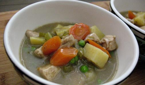 Chicken Stew with Butttermilk Dumplings Recipe