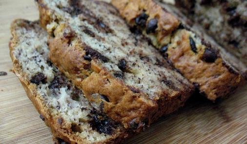 Chocolate Chip Banana Loaf Recipe