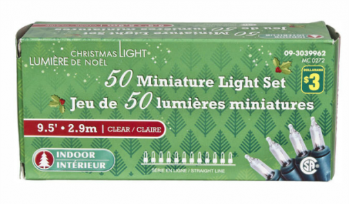 Dollarama Christmas Lights Recall | YummyMummyClub.ca
