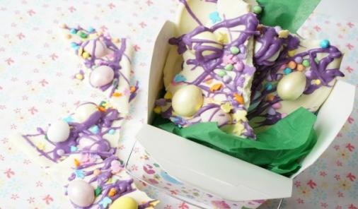 Easter Candy Bark   YummyMummyClub.ca