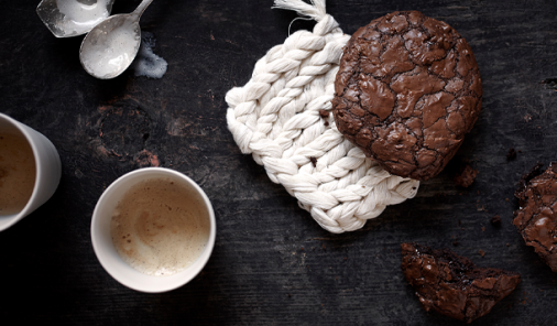 Chocolate Pecan Meringue Cookies