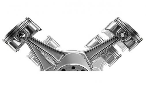 Engine piston V