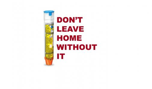 Don't forget your EpiPen