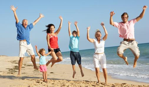family vacation tips, familt travel, going south for winter