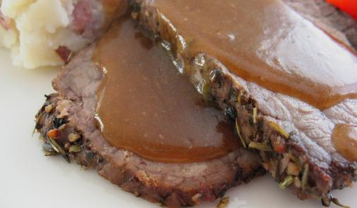 Roast Beef with Guinness Gravy Recipe