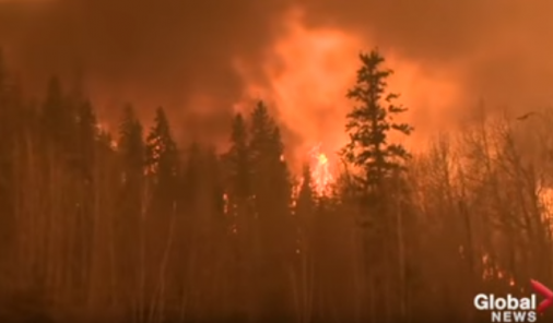 Forest Fire in Fort McMurray | YummyMummyClub.ca