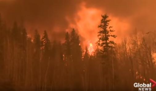 Forest Fire in Fort McMurray | YummyMummyClub.ca