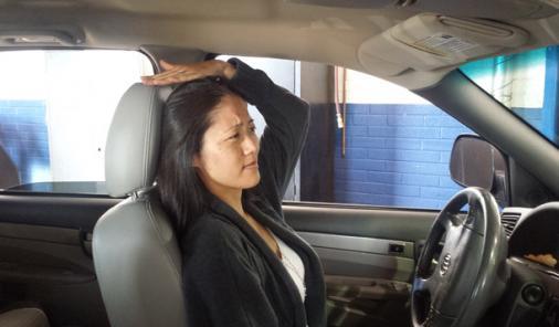 Headrest Adjustment