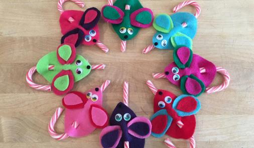 easy and fun family Christmas crafts