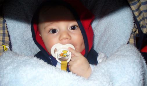 Infant child car seat