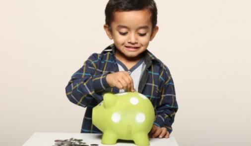 teaching kids how to save money