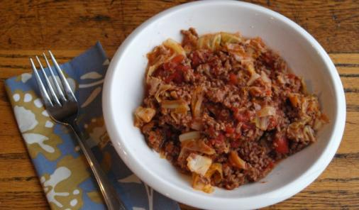One Pot Lazy Cabbage Rolls