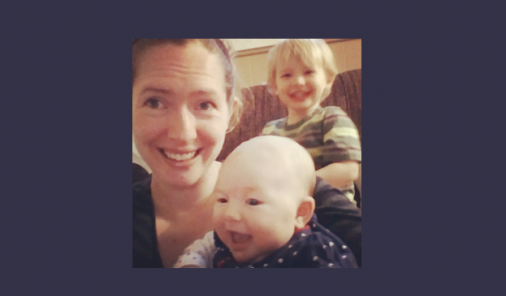 newborn, two kids, six weeks old, jen warman, babies, infants, tired mom, zombie mom, toddler, busy, coffee