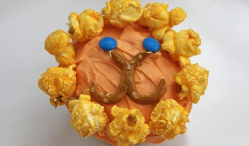 Adorable lion cupcakes are as easy to make as they are delicious