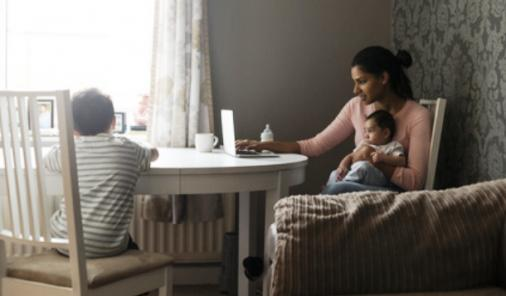 """""""Taking a break"""" to raise your kids isn't just a thing. 