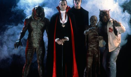 The monsters of Monster Squad