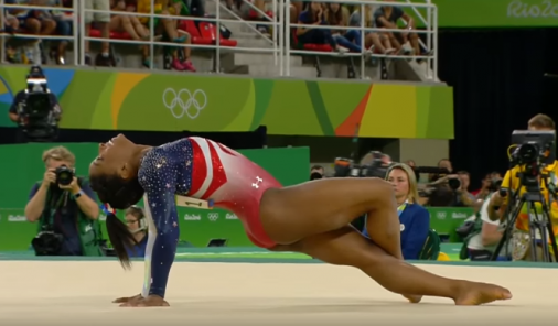 "Olympics Announcer: Simone Biles' Adoptive Parents are ""NOT her Parents"""