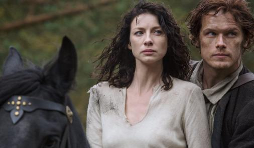 Time travel is messy. Outlander on STARZ and Showcase