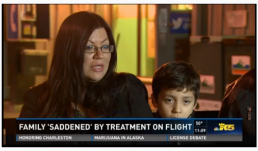 Passengers clapped when this allergic boy was removed from a flight, but is that the whole story?
