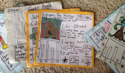 homemade Pokemon cards | YummyMummyClub.ca
