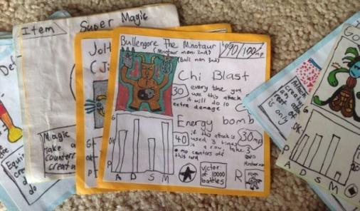 homemade Pokemon cards | YummyMummyClub.ca