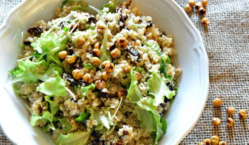 quinoa_arugula_chickpea_sundried_tomato_salad
