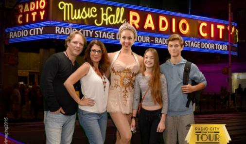 You can go backstage and meet a Rockette when you take the Radio City Music Hall Tour