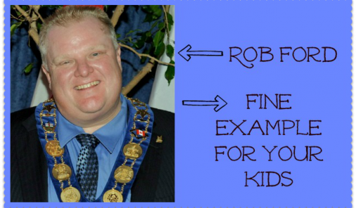 Rob Ford Fine Example