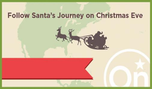 Santa's journey through NORAD and OnStar