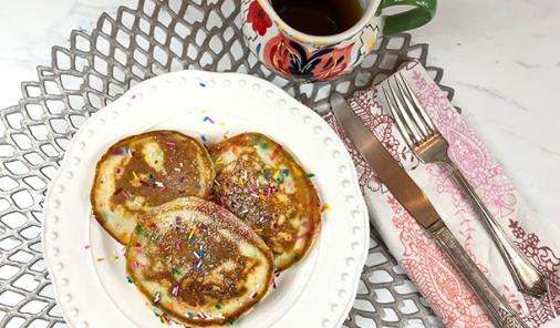 Sprinkle Pancakes