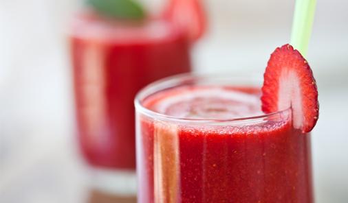 Strawberry Spring Fling Cocktail