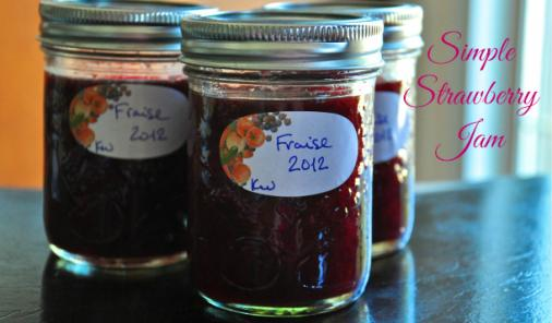 Simple Strawberry Jam Recipe