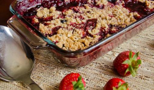 Summer Berry Crumble Recipe