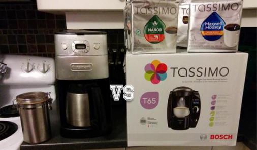 Coffee snobbery: A pod brewer VS my trusty grind-n-brew