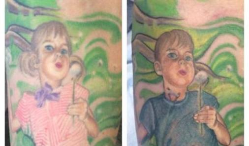 Dad Updates Tattoo