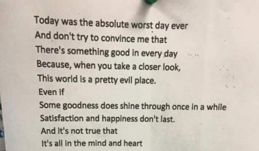 viral poem on Twitter