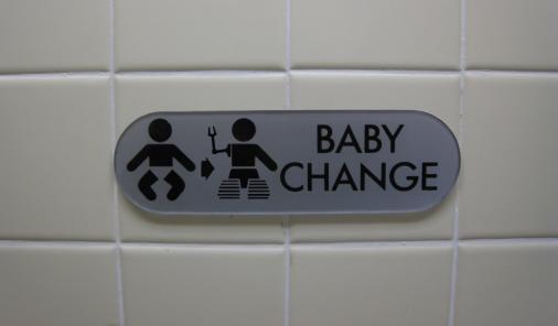 Baby change tables mandatory
