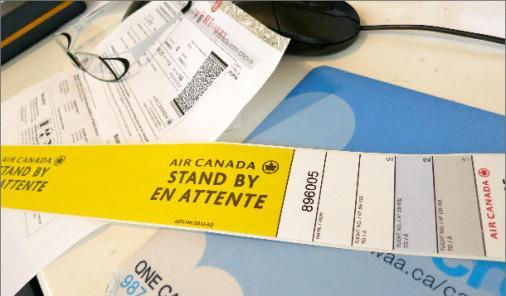 Air Canada standby