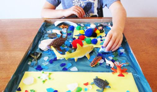 Nimal habitat crafts for Earth Day | YummyMummyClub.ca
