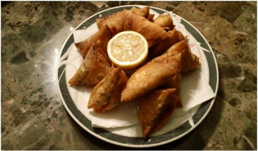 Asian Inspired Samosas Recipe