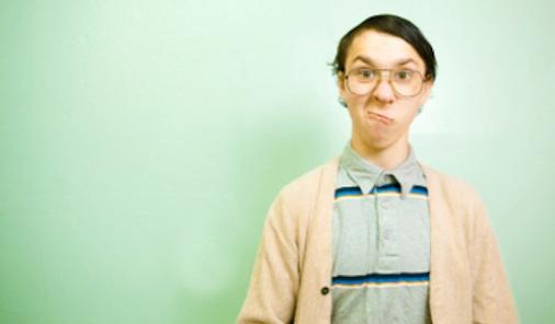 awkward photo of teenager
