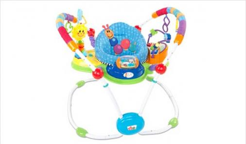 RECALL: Baby Einstein Musical Motion Activity Jumper