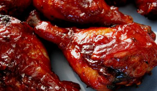 The Very Best BBQ Chicken Legs Recipe