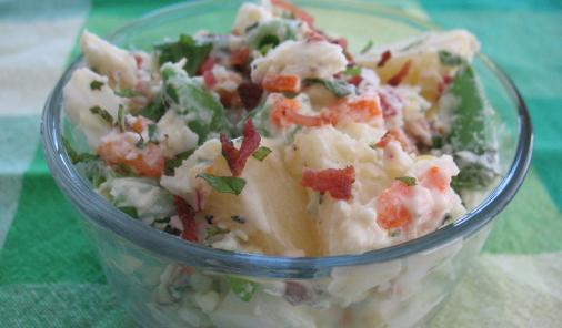 Karen's Very Veggie Lemon Herb Potato Salad Recipe